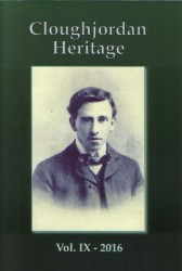 Cover of volume 9 of the Cloughjordan Heritage Journal