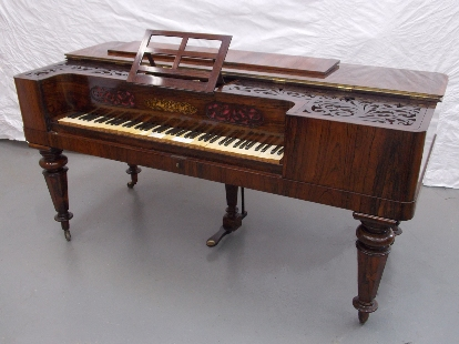 MacDonagh Pianoforte now restored and home in Cloughjordan