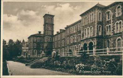 St Colman's College,  Fermoy, in the early 1900s, around the time Thomas MacDonagh was a teacher there.